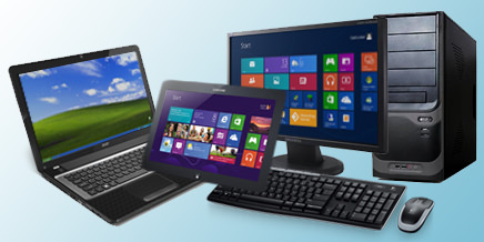 PC's, Notebooks, Tablets, Printers